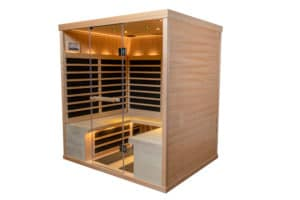 Finnleo S840 Infrared Sauna Splash Pool & Spa Cedar Rapids Iowa