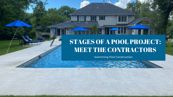 Stages of a Pool Project Blog Banner - Splash Pool & Spa Cedar Rapids, Iowa