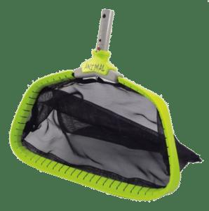 Animal leaf rake skimmer for pool opening